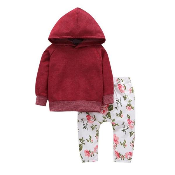 2019 New Girls Hooded Clothing Set Spring Autumn 2PCS Suits Hoodies+Leggings Pants Sweatshirt Baby Girl Clothes