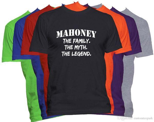 Nome Cognome T Shirt Nome Personalizzato Camicia Family Reunion Famiglia T Shirt Uomo Rock Custom Taglie manica corta Plus Size