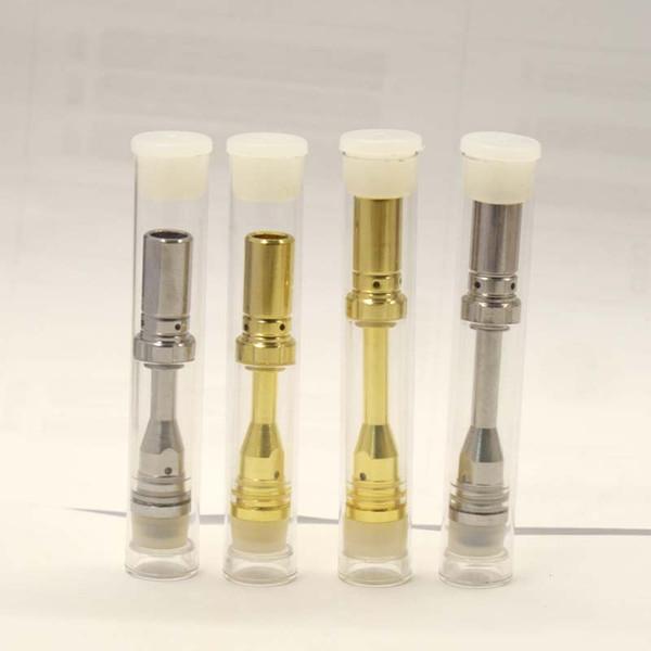 Cigarettes électroniques Cartouches de Vape A1 Vaporisateur d'huile épaisse Réservoirs en verre de stylo 510 Cartouches en céramique 0.5ml 0.8ml 1ml Atomiseur