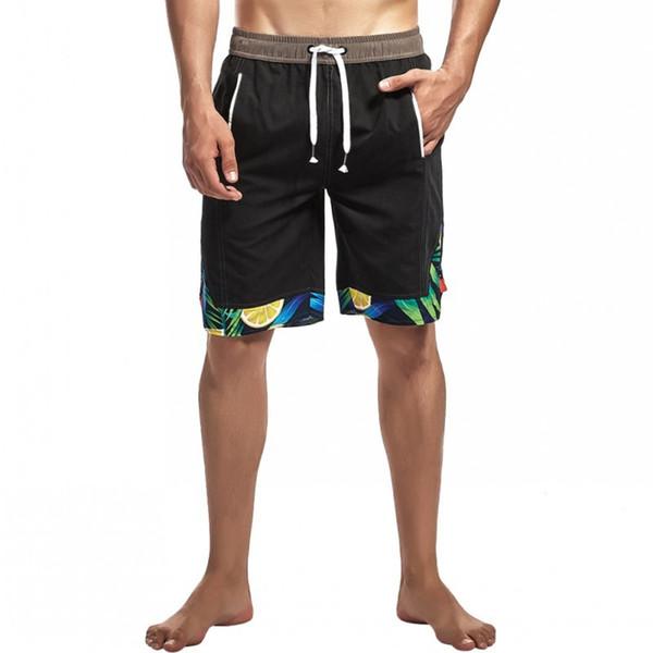 Männer Strand Shorts drucken lose beiläufige kurze Hosen für Sommerferien M-2XL NGD88