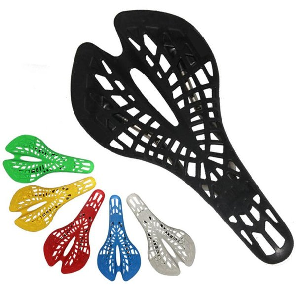 Bike Bicycle Cycling Seat Saddles Pad Mountain Road Sports Hollow Spider Comfy