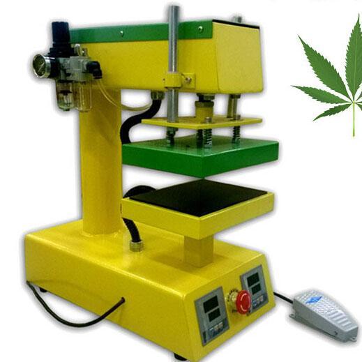 Heatpress Machine Rosin Press Machine PURE ELECTRIC Auto Dual Heat Plates CK1015-1 10*15