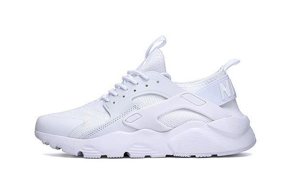 2018 Newest Air Huarache 4 IV Ultra Reflect Casual Shoes For Mens Womens Leather Mens air Huaraches Casual Shoes 36-46 a32