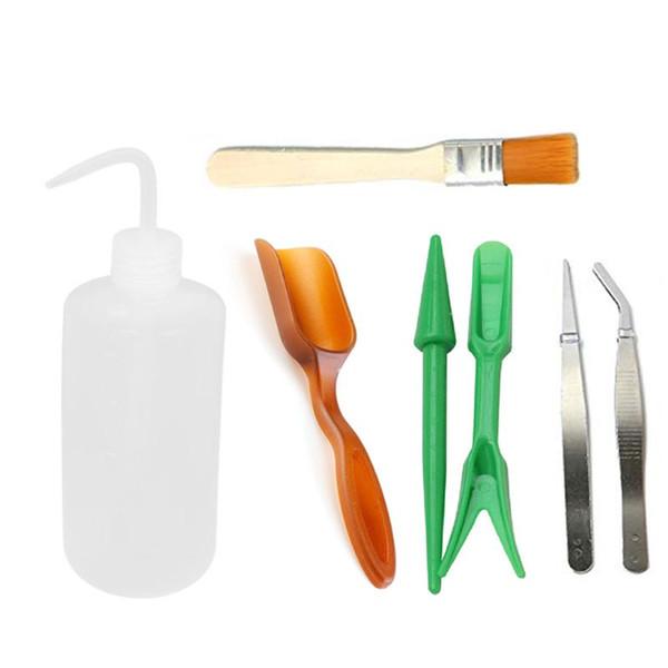 Mini herramientas de mano para jardín Herramientas de trasplante Juego de herramientas de jardinería de plantación en miniatura suculenta para miniatura de interior Gard de hadas