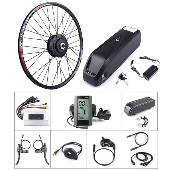 """Bafang 48V 500W Hub Motor Electric Bike Conversion Kit for Kinds of Bicycle 20"""" 24"""" 26"""" 27.5"""" 700C Rear Wheel"""