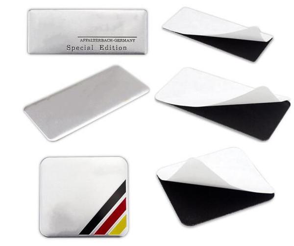 Yüksek Kaliteli Alüminyum alaşım Sticker Araba Spor Etiketler Etiket Amblem Rozet araba styling Mercedes AMG için fit [60x55, 35x34, 80x30mm daha boyutu]