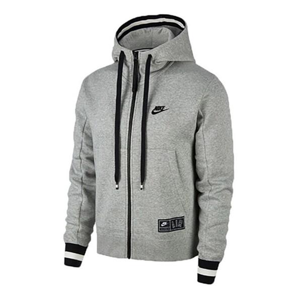 Бренд куртка мужчины молния тонкий верхняя одежда пальто 2019 мода хлопок смесь пуловер мужская куртка chaqueta письмо куртка