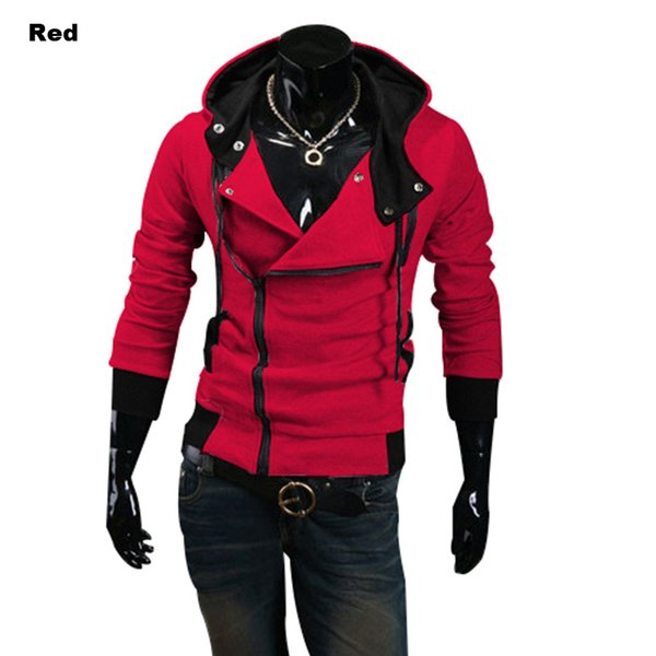 Designer Hoodies Men Casual Sweater Zipper Long-sleeved Hooded Sweater Coat Men's Clothing Fashion (M-4XL)