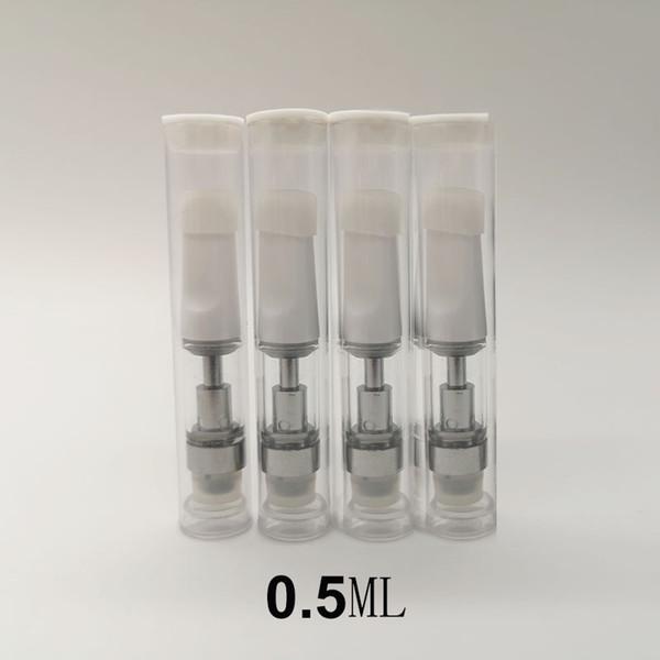 0.5ml cart, white tip, with pvc tube