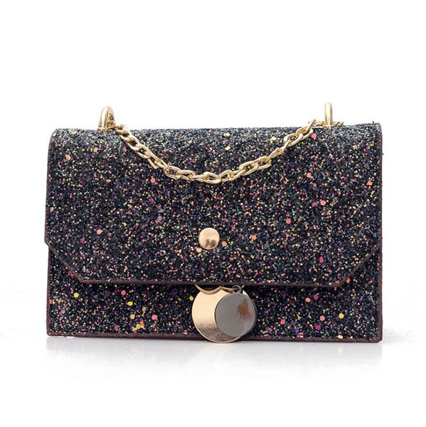 2019 nuova borsa a tracolla esplosione di moda Trend single shoulder cuciture borsa a tracolla portatile di alta qualità 013
