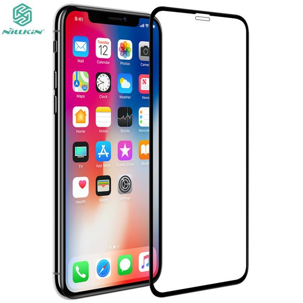 Full Body Film Round Edge Screen Protectors For Iphone X Original Nillkin Xd Cp+max Full Cover Tempered Glass For Iphone Xs J190505