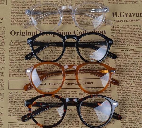New design retro vintage brand miltzen johnny depp prescription glasses optical eyeglasses spectacle frame free shipping