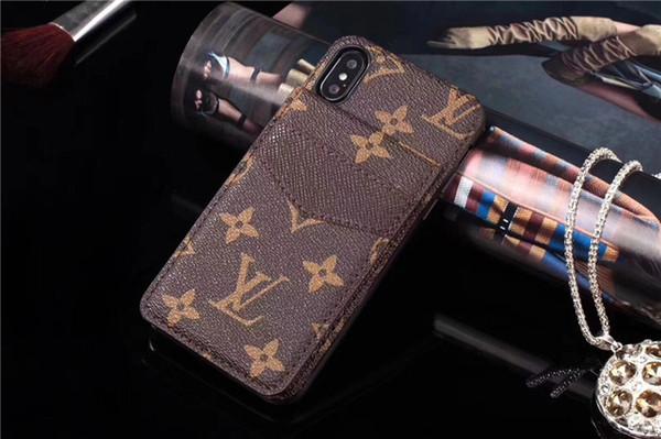 Etui De Telephone Portable Classique Imprimé Plaid Card Case Pour Iphone X Wallet Case Pour Iphone Xs Max Xr 876 Plus Cool Fashion Tendance Cool
