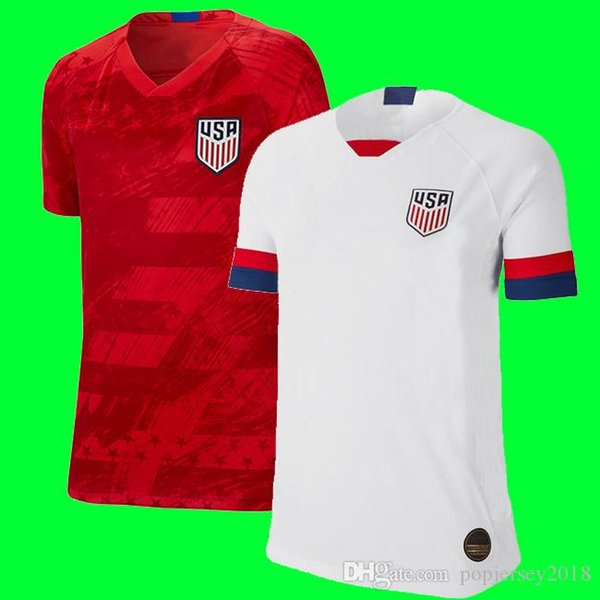 Gold cup 2019 America Home away USA Soccer Jersey 2019 copa america United States Soccer Shirt USA men Football SHIRT Uniform