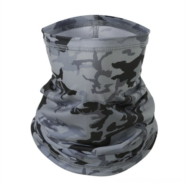 ice silk scarf [camouflage gray]]