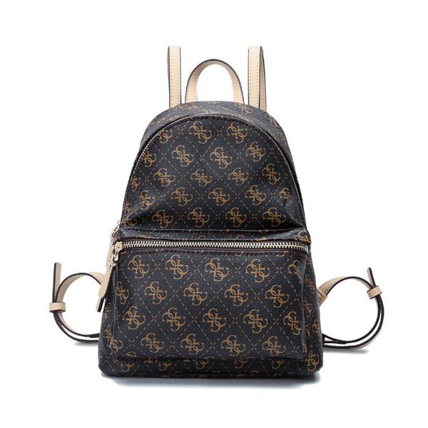 Fashion Women brand backpack PU leather shoulder bags girl satchel BAG306