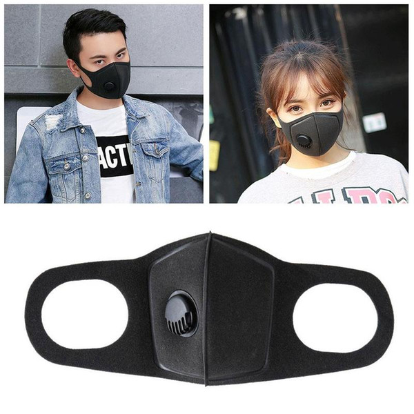 best selling Reusable Breathing Valve Masks Anti-allergic Mouth Masks Anti-Dust Anti Pollution Mask Cloth Mask