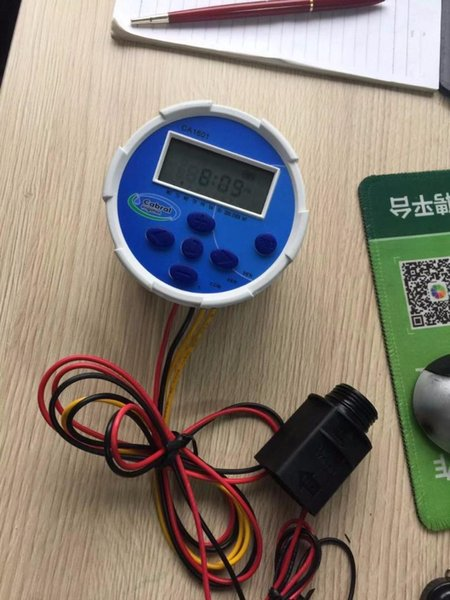 zanchen cabarl irrigation 1-station battery valve controller - from $101.71