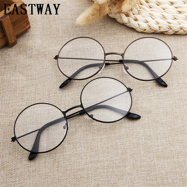 2018 Cheap Metal Eyeglasses Designer Optical Frames Men Round Glasses Eye Glasses Frames for Women Eyewear
