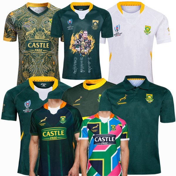 best selling New 2018 2019 2020 2021 South Africa rugby Jerseys national team SEVENS Rugby League jersey 19 20 21 shirts S-5XL