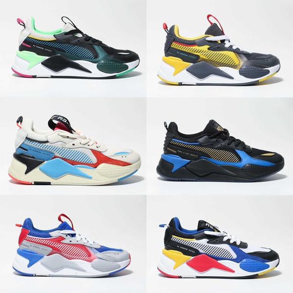 Yeni Creepers Yüksek Kalite Rs-x Oyuncaklar Yenileme Ayakkabı Yeni Erkek Kadın Koşu Basketbol Eğitmen Rahat Sneakers Boyutu 36-45