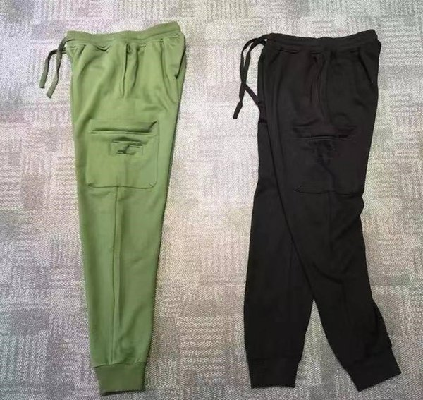 2019 Men's Casual Sweat Pants Jogger Harem Trousers Slacks Wear Drawstring Plus Size Solid Mens Joggers Pants Slim Fit Pants Men Sweatpants