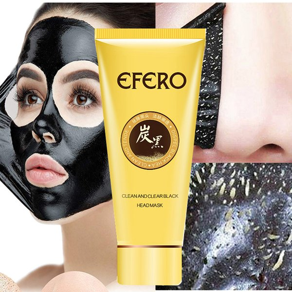 Black Head Remover Face Mask Nose Mask Pore Strip Black Mask Peel Off Acne Treatment Peeling Blackhead Remover Skin Care