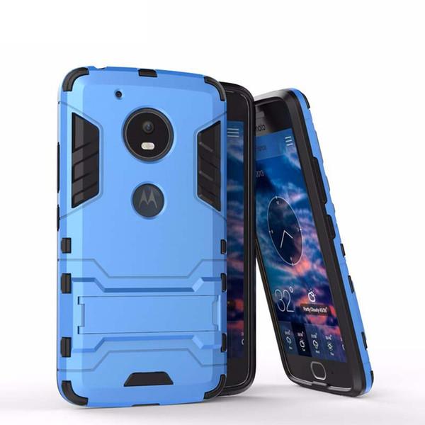 For Motorola Moto G5 G5S Plus Case Mobile phone Cover Slim Armor Case Hybrid Combo Cover Luxury 2 in 1 Anti Shock Iron man