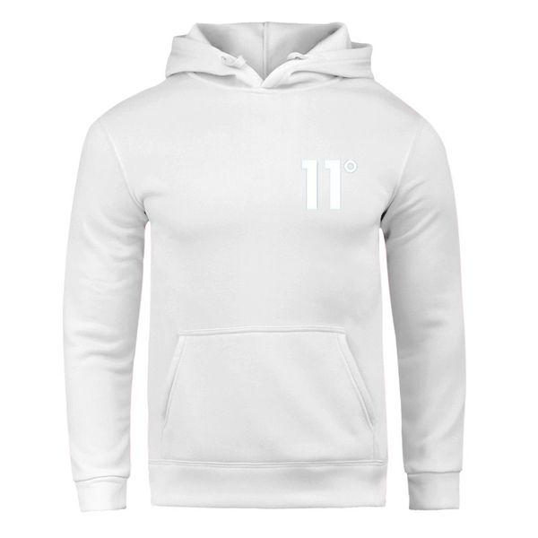 Mode Marke Logo Druck 11 Grad Baumwolle Hoodie Sweatshirt Herrenhülse Neue Mode Lustige Männer / Frauen Unisex Tops Sweatshirts