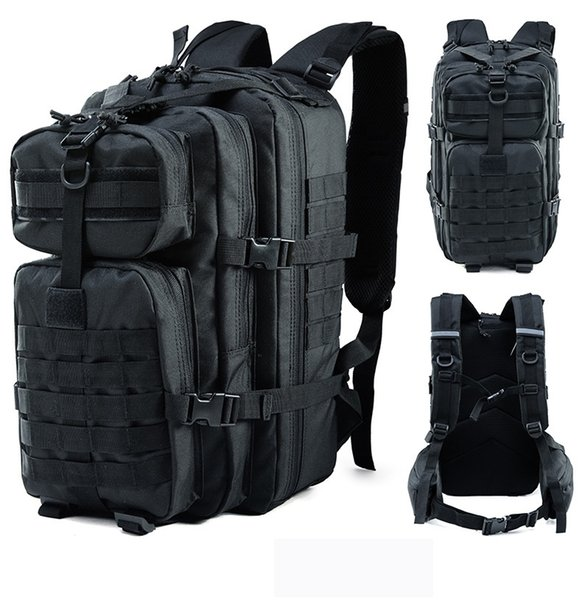 40L Military Tactical Assault Pack 3 Day Backpack Army Molle Waterproof Camping Bug Out Bag Rucksack for Outdoor Hiking #304137