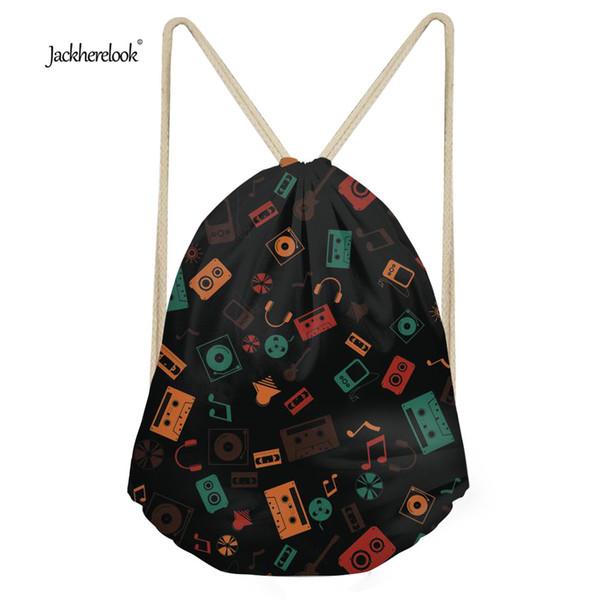 Jackherelook Kids Girls Backpack Small School Drawstring Storage Shoulder Bags Women Casual Shoes Cloth Bag Rucksack Cinch Bags
