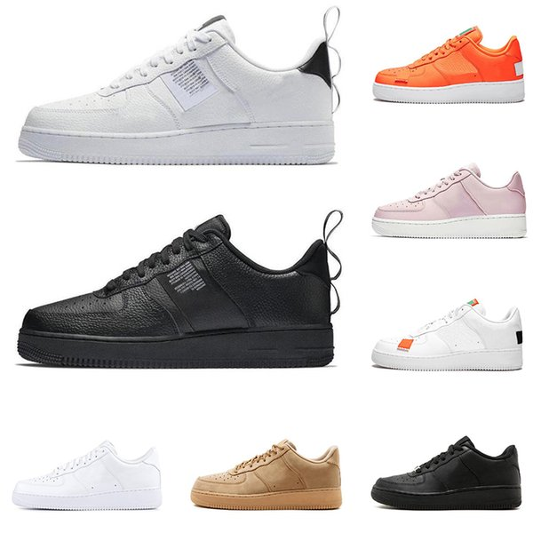 2019 Dunk utility running shoes for men women 1 black white pink wheat low high cut Skateboard shoes fashion sports sneakers trainers