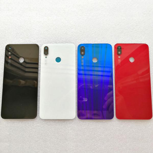 2019 100% Original 3D Glass Back Cover For Huawei Nova 3I Nova3i Spare  Parts Back Battery Cover Door Housing+Flash Cover+Camera Lens From Sunzhig,
