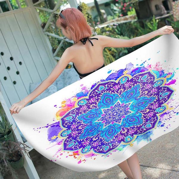 Cartoon strandtuch 150 * 70 cm mikrofaser schnell trocknend bad towel sommer outdoor camping schwimmen dusche yoga sport towel 167 styles mma1970