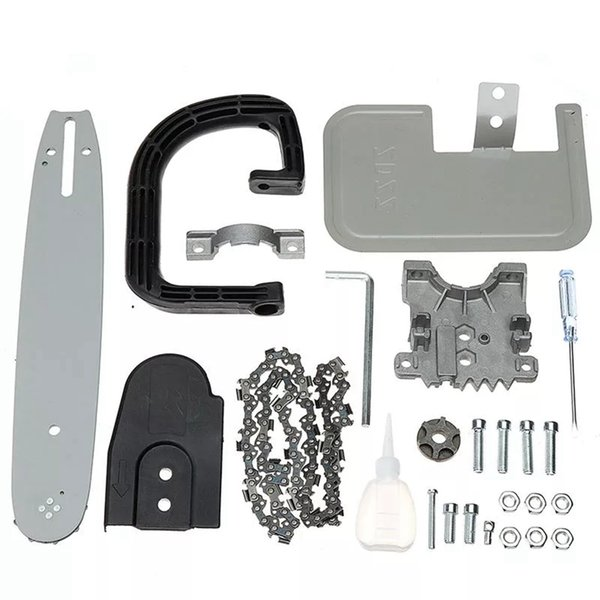 11.5 Inch Chainsaw Bracket Set Big Guide Board Portable Chainsaw Refit Kit Woodworking Tool