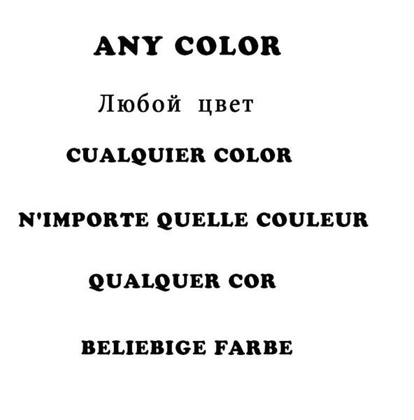 Jede Farbe