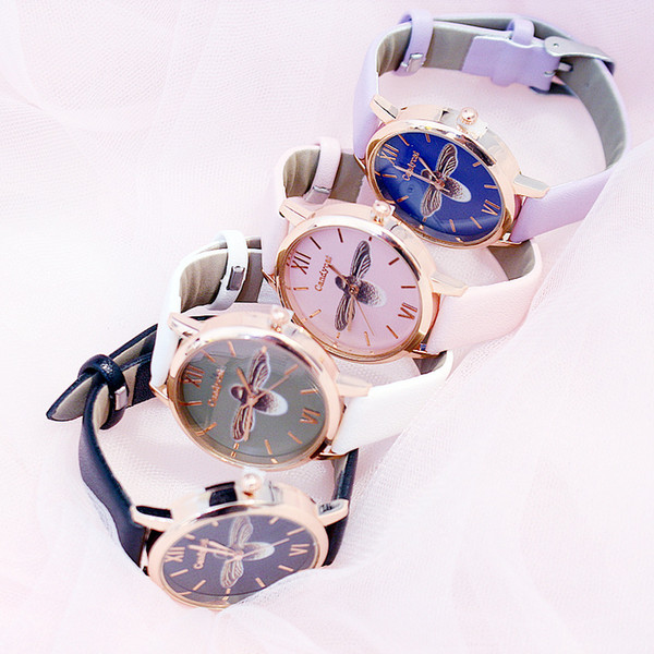 Fashion Bracelet and Watch Women PU Leather Quartz Watch Swan Lazy Female Luxury Diamond Milan with Ladies Quartz