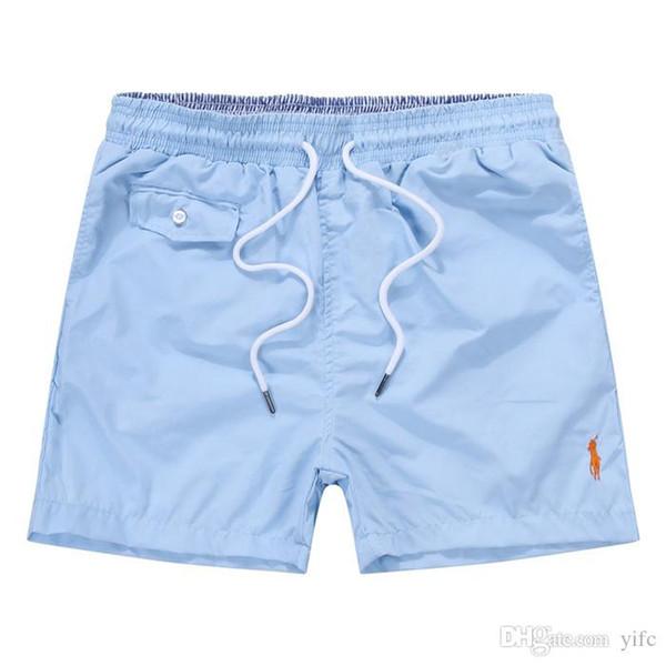 Classic Brands Summer polo Board Shorts small horse embroidery Hawaiian Ralph Men's Beach surf Pants swim shorts s0231 Men swimming tru