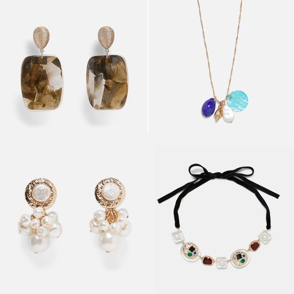 Fashion Za Dangle Drop Earrings For Women Wedding Gift Hot Bohemian Multi Color Statement Jewelry 19 Styles Wholesale