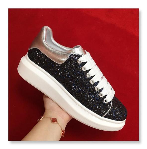 Designer Schuhe Mode Luxus Lederturnschuhe für Männer Frauen Top-Qualität 3M reflektierende weiße Plateauschuhe 2019154