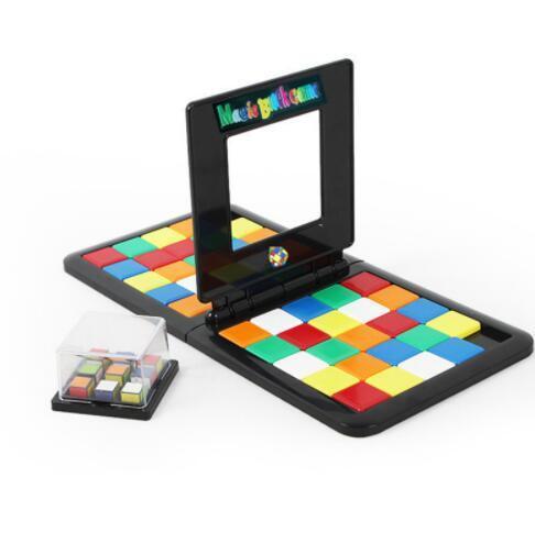 Puzzle 3D Race Cube Board Bambini Adulti Istruzione Giocattolo Genitore-figlio Doppia velocità Gioco Magic Cubes Q190521