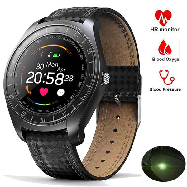 Bluetooth V10 Smart Watch Men Women Pedometer Running Heart Rate Monitor Wristbands Sport Intelligent Watch Fitness Smartwatch