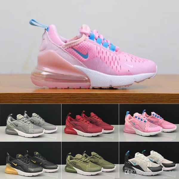 koşu ayakkabıları Yüksek Kaliteli 2019 Bebek Çocuk pembe Beyaz Tozlu Kaktüs açık yürümeye başlayan atletik spor oğlan kız Çocuk spor ayakkabısı KLS3-İL