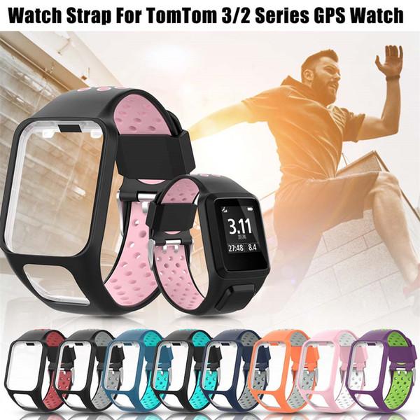 Сменный силиконовый ремешок для часов ремешок для часов для TomTom 2 3 серии Runner 2 3 Spark Series Golfer 2 Adventurer GPS часы