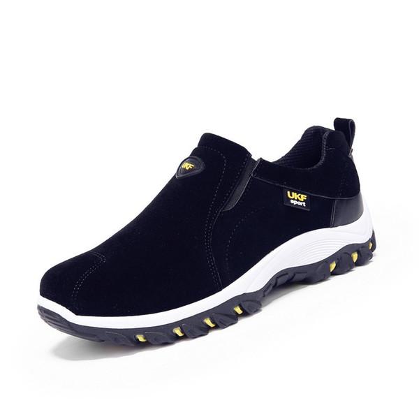 39-44 Sapatos de Inverno Homens Deslizamento No Algodão Forro Homens Botas Anti derrapante Botas de Inverno Homens Amarelo Preto Azul Cinza
