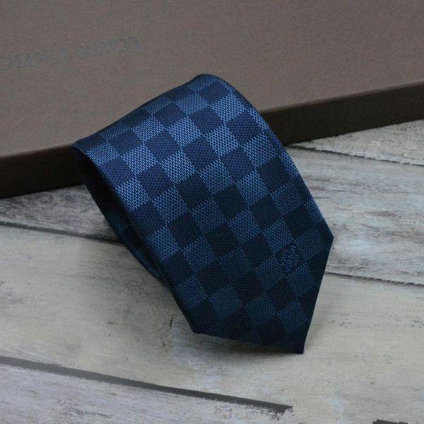 2019 Nuova cravatta di marca di alta qualità firmata da uomo alla moda cravatta di alta qualità cravatta di seta 100% 8 cm jacquard modello cravatta da uomo spedizione gratuita