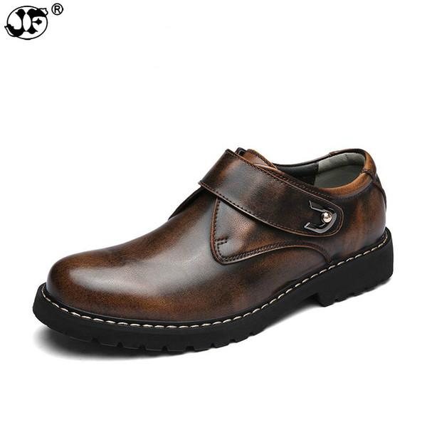 Sapatos Oxford Sapatos Masculinos Respirável feito À mão dos homens de Qualidade Superior Flats Moda Couro Genuíno Dos Homens Casuais Shoes741