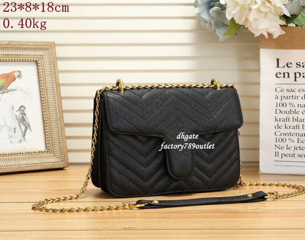 best selling Top Quality 5colors Famous brand women designer Shoulder bag leather chain bag Cross body Pure color womens handbag crossbody bag purse 66