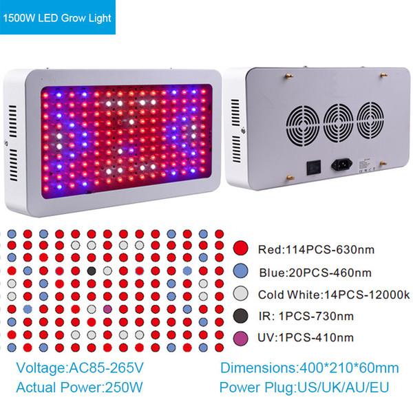 1500W LED wachsen Licht