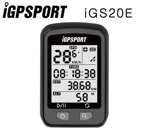iGPSPORT iGS20E Radfahren GPS Fahrradcomputer Wasserdicht Aktiviert Halterung Straßen- / MTB-Fahrrad Preis PK Edge 200 Bryton Rider310 # 309352